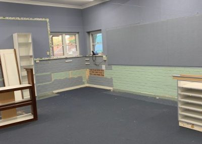 Old Year 1 Room - soon to be transformed into the Pre Primary room
